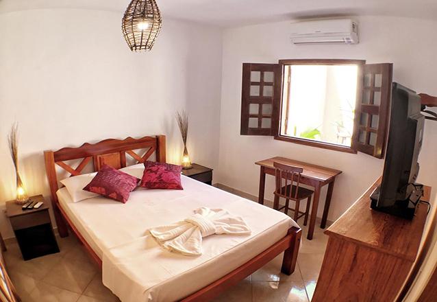 2 diárias (na semana) em apartamento para 2 pessoas por R$349