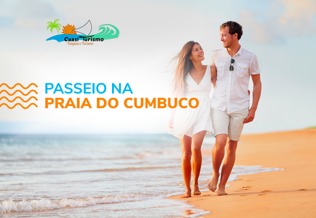 Cumbuco é sempre bom! Transporte para 1 pessoa para passeio na Praia do Cumbuco por apenas R$35,90 com a Caasi Turismo