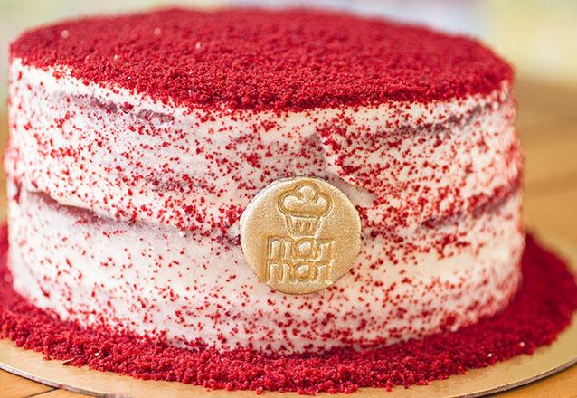 As melhores tortas da MariMari Guloseimas! Torta Red Velvet ou Torta Xuxa para até 20 pessoas de R$128 por apenas R$79,90