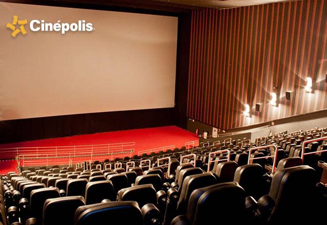 01 Ingresso Inteira Cinema Sala Tradicional 2D - válido de segunda a quinta de R$22 por apenas R$12,80