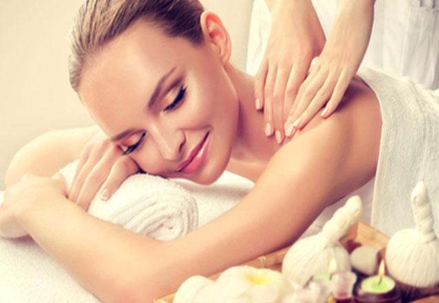 Massagem Modeladora abdômen + Hiperemiante + Manta térmica abdômen de R$90 por R$39,90