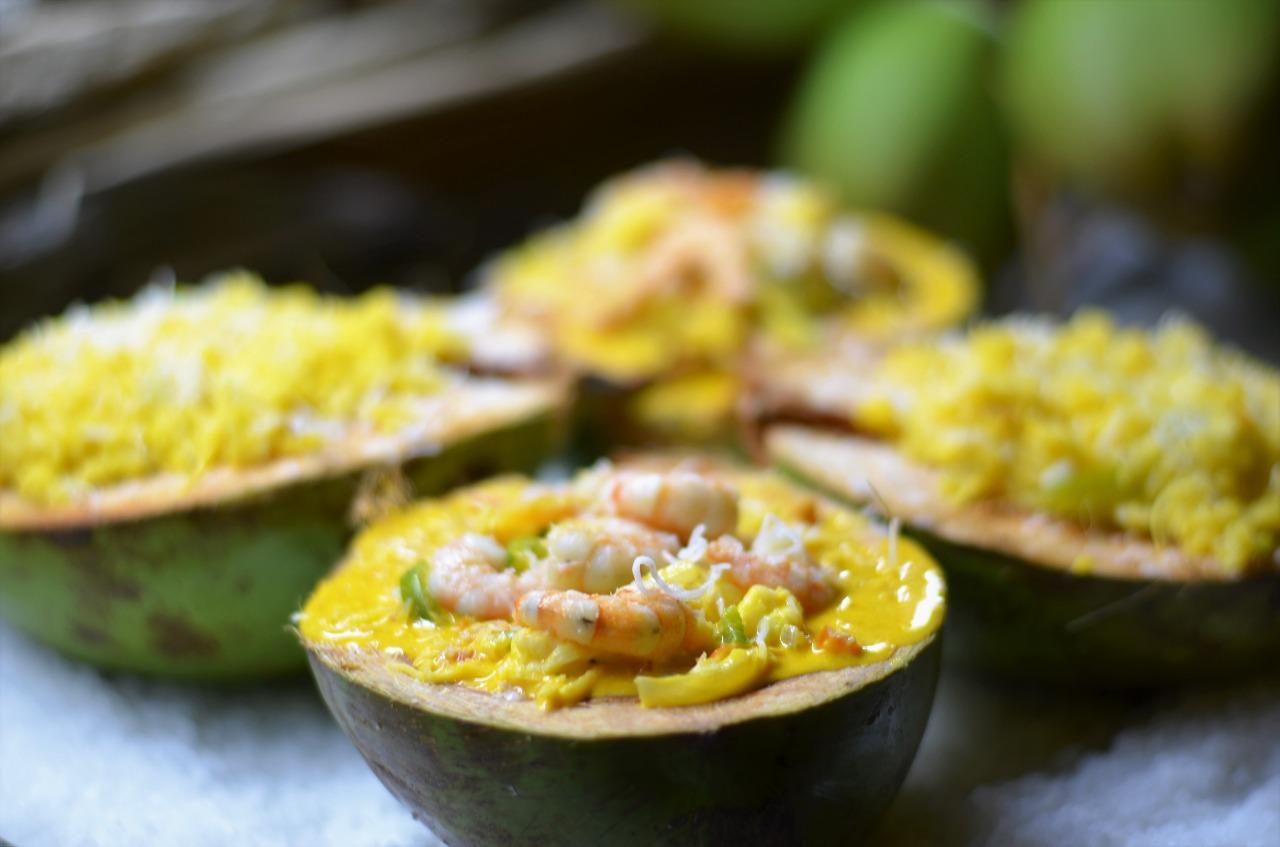 O melhor Frutos do mar é no Camarão da Varjota! Manjar de Camarão (servido com delicioso arroz de coco) para 2 pessoas de R$79,90 por apenas R$59,90