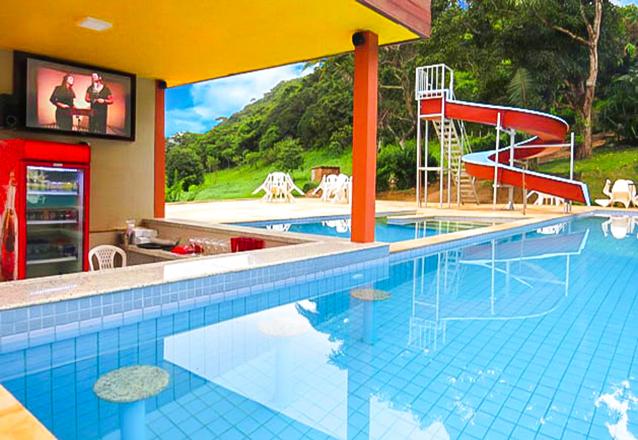 2 diárias em apartamento sem ar-condicionado para 2 adultos e 1 criança de até 6 anos + café da manhã de R$500 por R$349