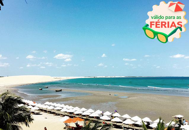 Venha curtir e relaxar no paraíso Jericoacoara! 2 diárias para 2 adultos e 1 criança de até 6 anos + café da manhã de R$600 por apenas R$400 na Pousada Baruk