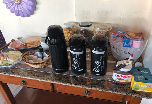 1 diária (domingo a quinta) para 2 adultos e 1 criança até 12 anos + café da manhã por apenas R$169