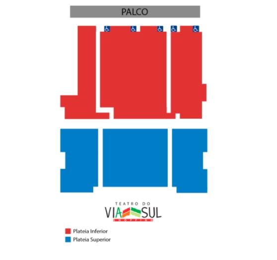 Ingresso Inteira Plateia (sábado 19/01, sessão das 21h) de R$80 por apenas R$38,40