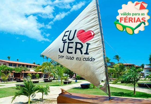 Conheça Jeri! 2 diárias em Apartamento para 2 adultos com café da manhã na Pousada do Nano em Jericoacoara de R$450 por apenas R$250