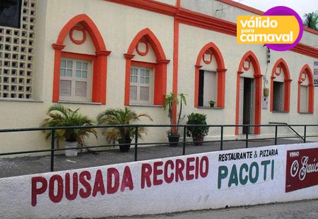 Carnaval no frio da Serra de Pacoti é sucesso! 4 diárias para 2 adultos e 1 criança de até 5 anos + café da manhã por apenas R$699,90 na Pousada Recreio