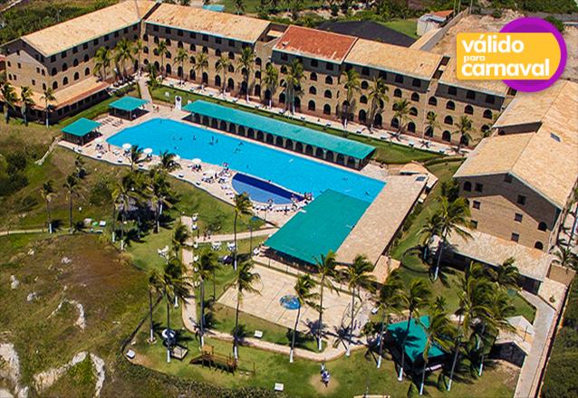 Seu Carnaval 2019 com 5 diárias com All Inclusive para 2 adultos e 2 crianças até 10 anos no Coliseum Beach Resort de R$5.635 por apenas R$4.198 em até 6x sem juros
