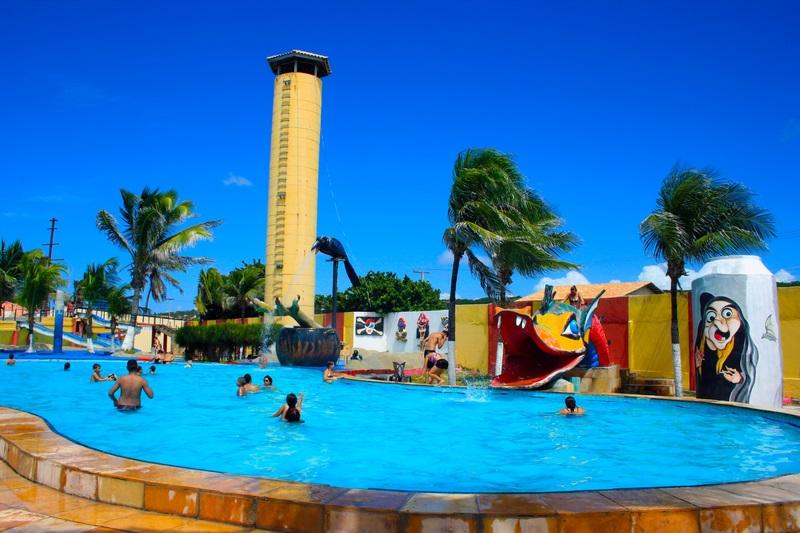 Aproveite o parque perfeito! Ingresso Adulto e 1 criança até 6 anos de R$120 por apenas R$36,90 no Ytacaranha Park! Vale para feriados!