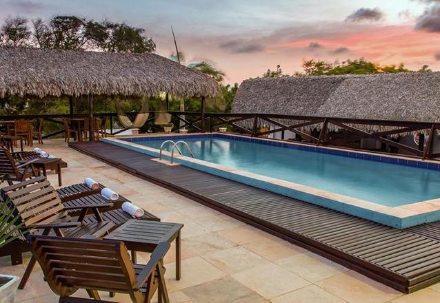 Curta a paradisíaca Jericoacoara com o conforto que você merece! 2 diárias para 2 adultos + café da manhã de R$600 por apenas R$475 na Pousada Jeri Village