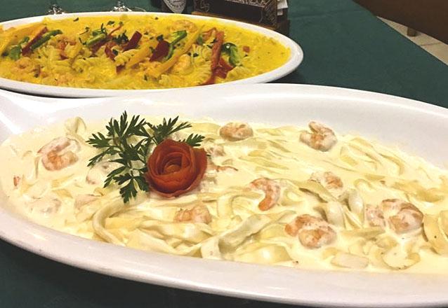Rodízio é no Fratelli La Pasta! Rodízio de Massas, Pizzas e Sobremesas para 1 pessoa de R$35 por apenas R$32,90