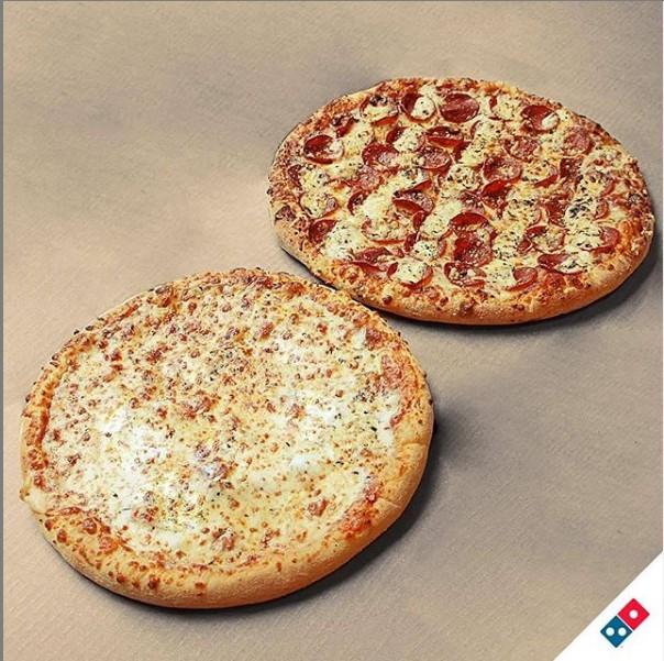 Do tamanho da sua fome! 1 Pizza Brotinho de R$15,90 por apenas R$8,90. Válido para as lojas Domino's Edson Queiroz (Pátio Água Fria), Bairro de Fátima e Shopping RioMar Fortaleza. Válido para todos os dias!