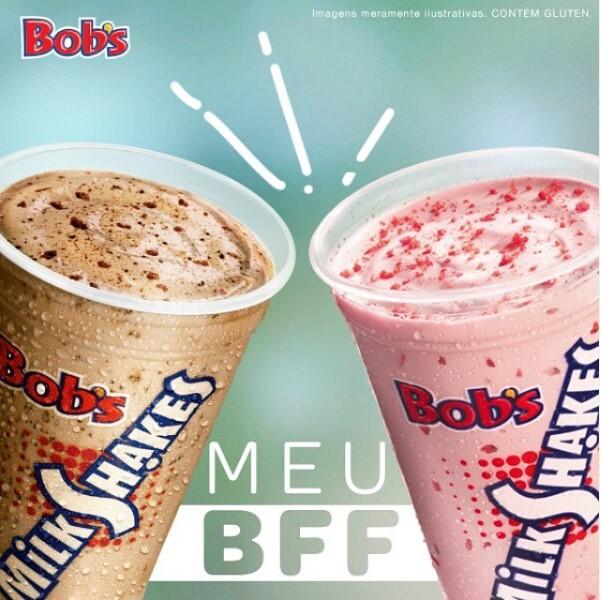 O clássico do Bob's está de volta! 1 Milk Shake P do Bob's de 300ml de R$10 por apenas R$6,99. Válido para Shopping Iguatemi, Benfica e North Shopping Jóquei. Válido para todos os dias e também feriados!