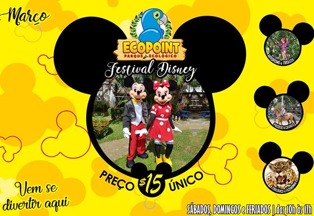 Traga sua família para se divertir no Ecopoint! Ingresso para adulto ou criança de R$40 por apenas R$15