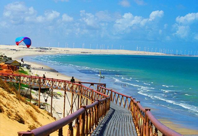 As mais belas praias do Ceará! Passeio por 3 Praias do Litoral (Morro Branco, Praia das Fontes e Canoa Quebrada) para 1 pessoa por apenas R$39,90 com a Sim 7 Turismo