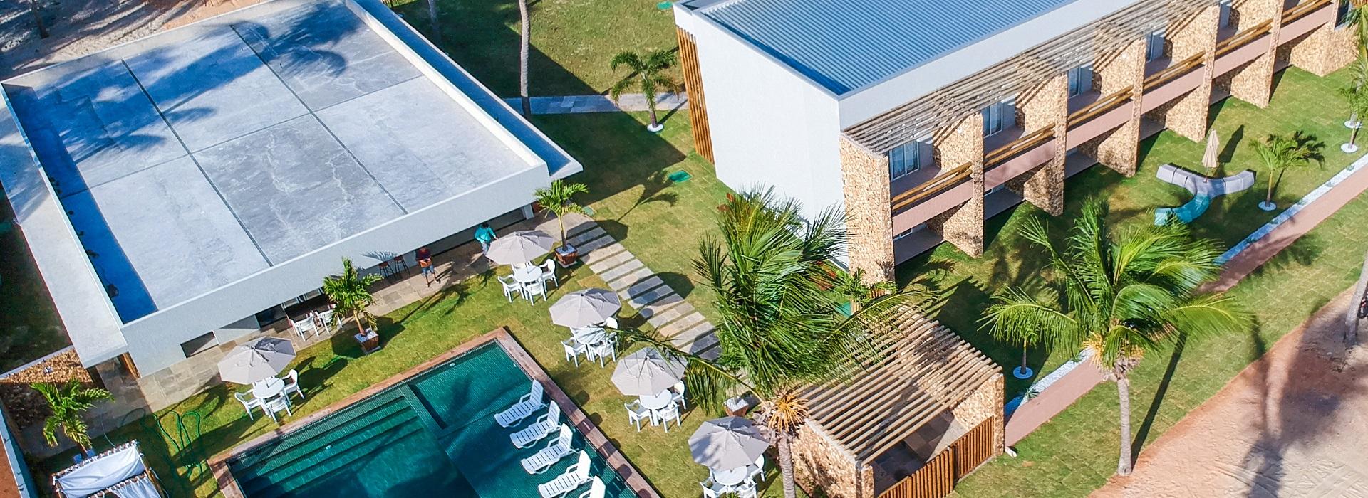 2 diárias (check-in de domingo a quarta) na Suíte Frente Jardim para 2 adultos + café da manhã + R$80 reais de crédito no restaurante do Hotel de R$720 por apenas R$395
