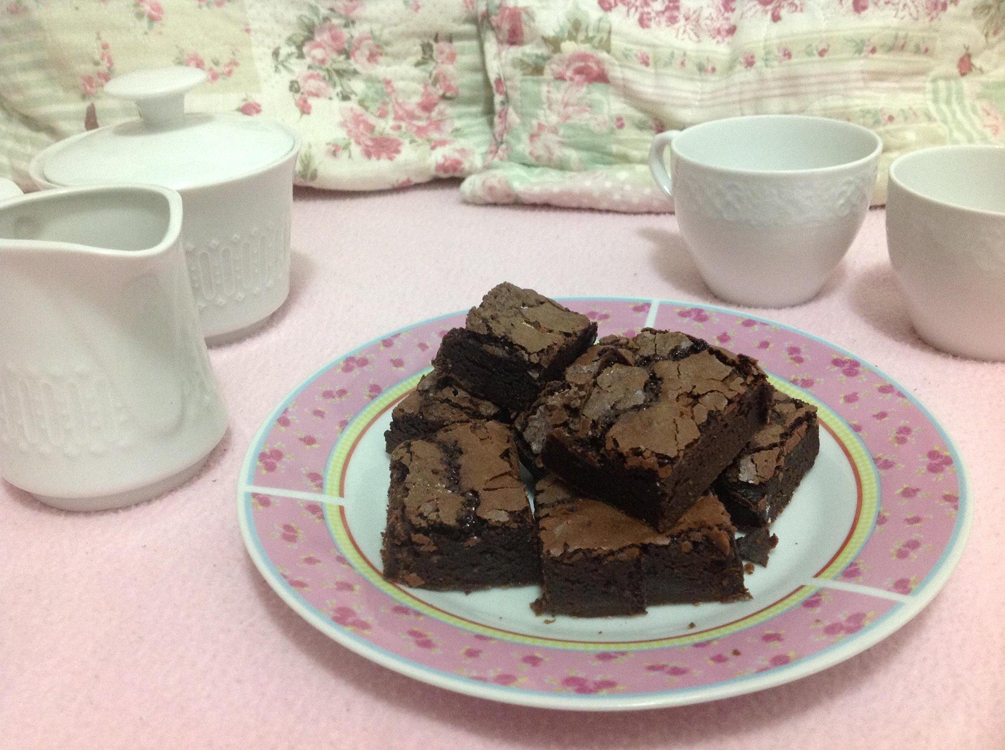 50 Mini Brownies embalados em celofane por apenas R$49,90