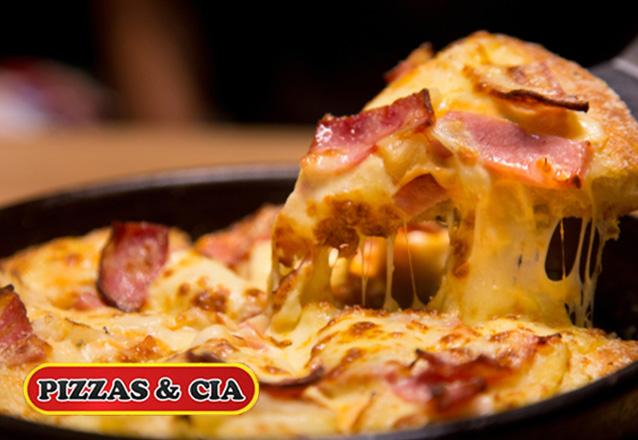 Rodízio perfeito é no Pizzas & Cia! Rodízio de Pizzas, Massas e Esfihas + Sobremesas a partir de R$28,90