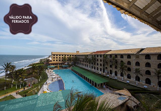 Feriado de Corpus Christi é no Coliseum Beach Resort! 2 diárias com All Inclusive na suíte superior para 2 adultos e 2 crianças até 10 anos de R$2.066 por R$1.400 em até 10x sem juros.