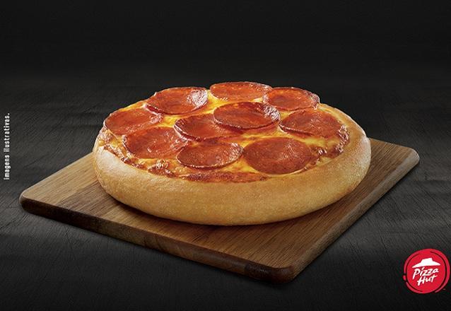 Só para você! Pizza Pan Individual (Brasileira ou Pepperoni) de R$16,90 por apenas R$8,90 Pizza Hut Iguatemi - Loja da Praça de Alimentação do Piso Térreo