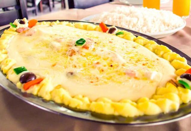 Peixes e frutos do mar? É no Sirigado da Barão! Prato de Filé de Peixe com 3 opções para até 3 pessoas por apenas R$49,90. Válido para Delivery!