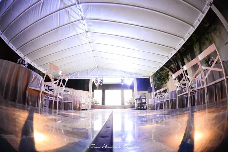 4 horas de Evento para 50 convidados de segunda a quinta de R$3.500 por R$2.625