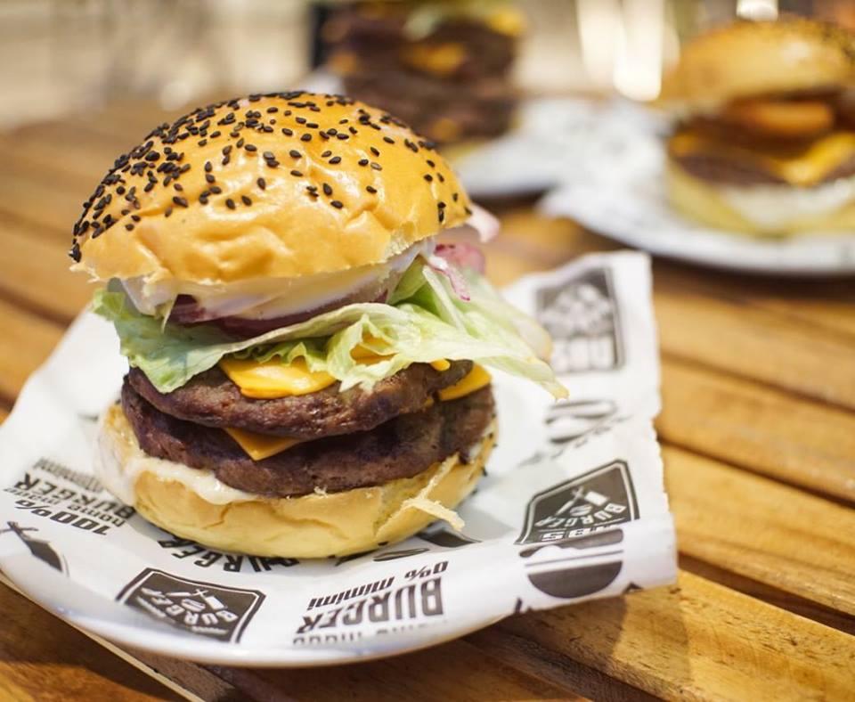 1 Burger NBS Cheese de R$16,99 por R$12,50