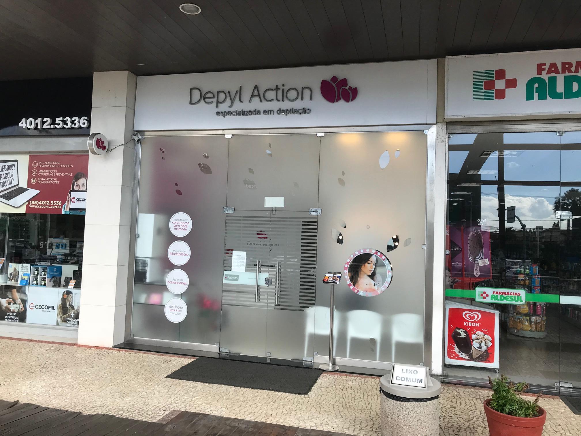 Depilação é com a Depyl Action! Combo de Depilação Feminina com Cera Morna em 3 regiões do corpo de R$95 por R$66,50