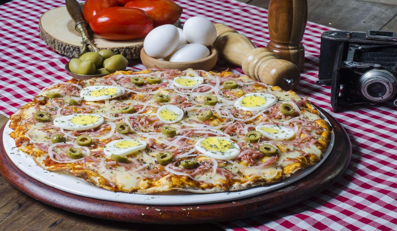 Vignoli: eleita 9x pela revista VEJA a Melhor Pizza de Fortaleza! 1 Pizza Salgada Grande de R$55,90 por R$ 29,90