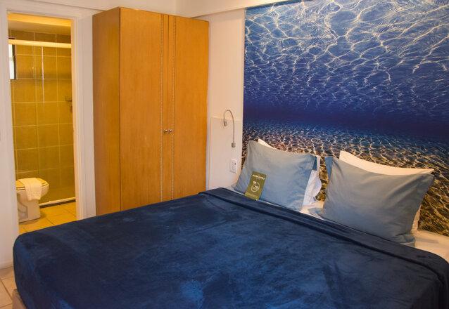 A 100m da Praia! 1 diária para 2 adultos de R$350 por apenas R$246 no Hotel Mercure