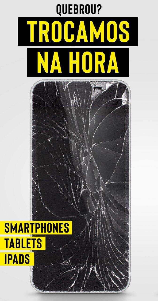 Troca do display e tela completa do iPhone 6 ou 6 Plus de R$449 por apenas R$299