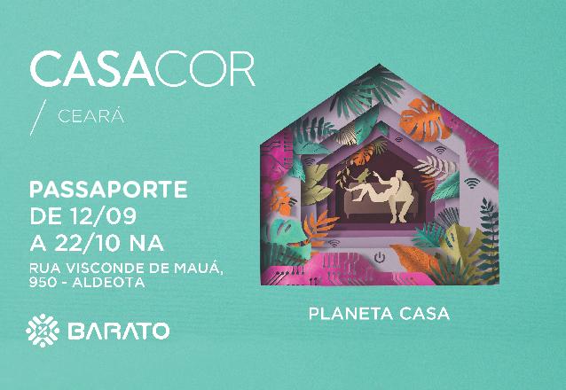 ÚLTIMOS DIAS! CASACOR Ceará 21ª edição! 01 Passaporte para todos os dias e quantas vezes quiser de R$150 por apenas R$75. Válido também para feriados!