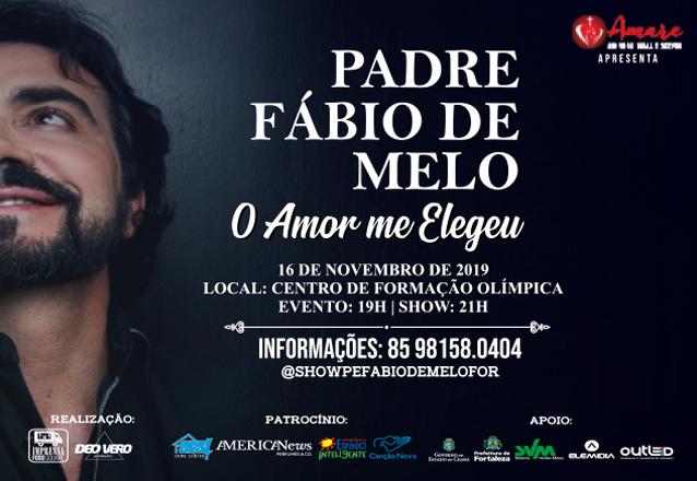 """Oração com amor no Barato! Ingresso Inteira Plateia Bronze para o show """"O Amor Me Elegeu"""" do Padre Fábio de Melo de R$66 por apenas R$39,99"""