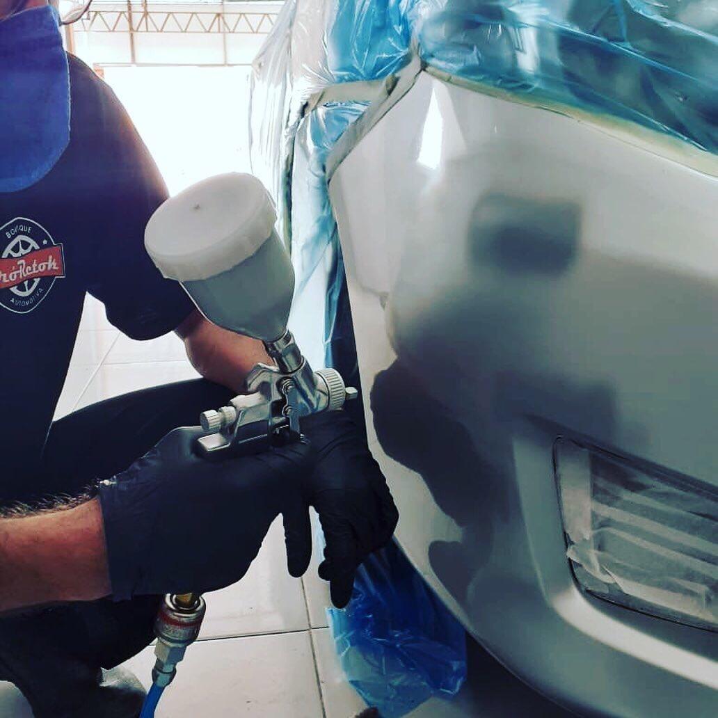 Limpeza ecológica + Dupla proteção da pintura para carro PEQUENO por apenas R$69,90