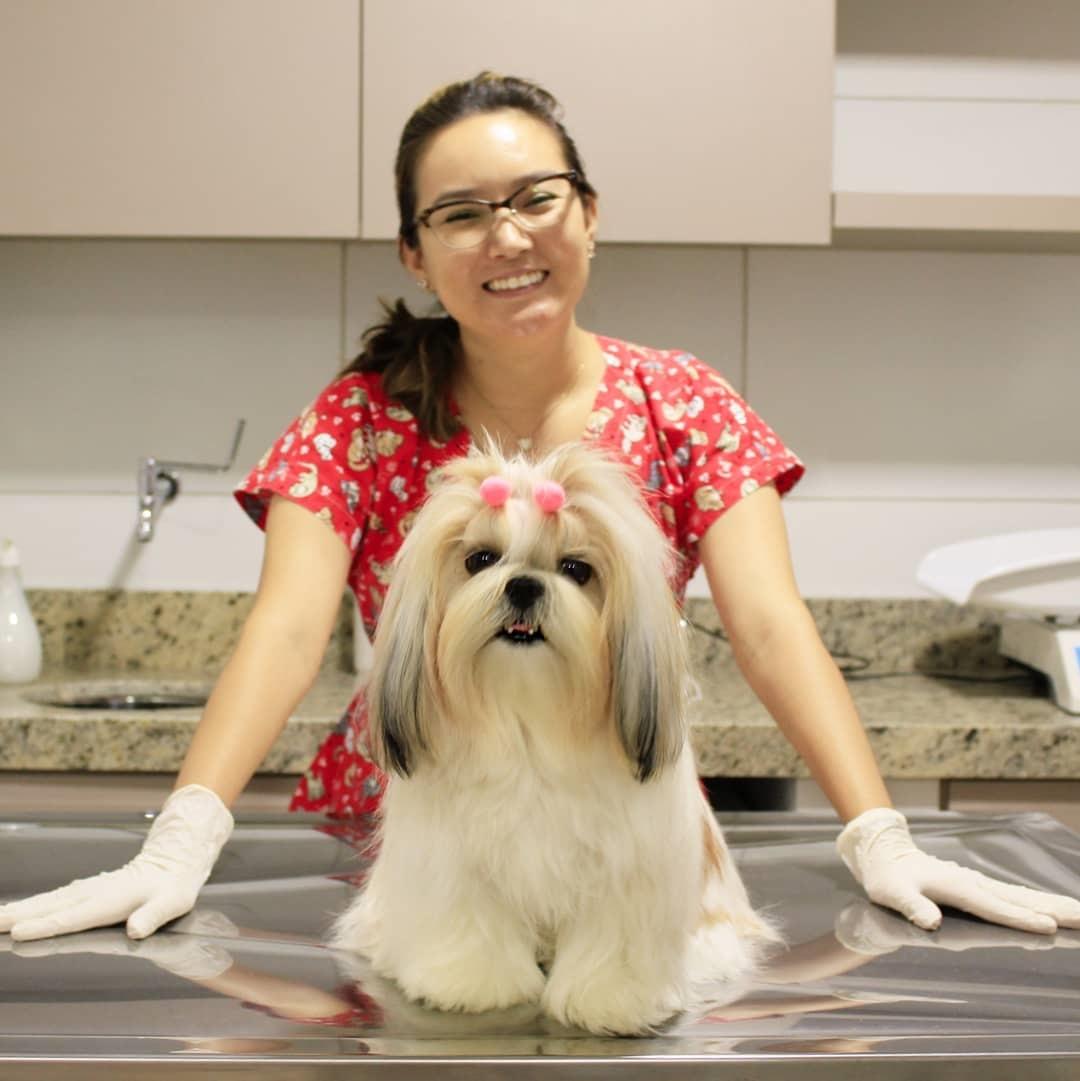 1 Banho + 1 Hidratação + 1 Corte de unha + 1 Limpeza de ouvido para Pets de até 10kg de R$46,90 por apenas R$25,99