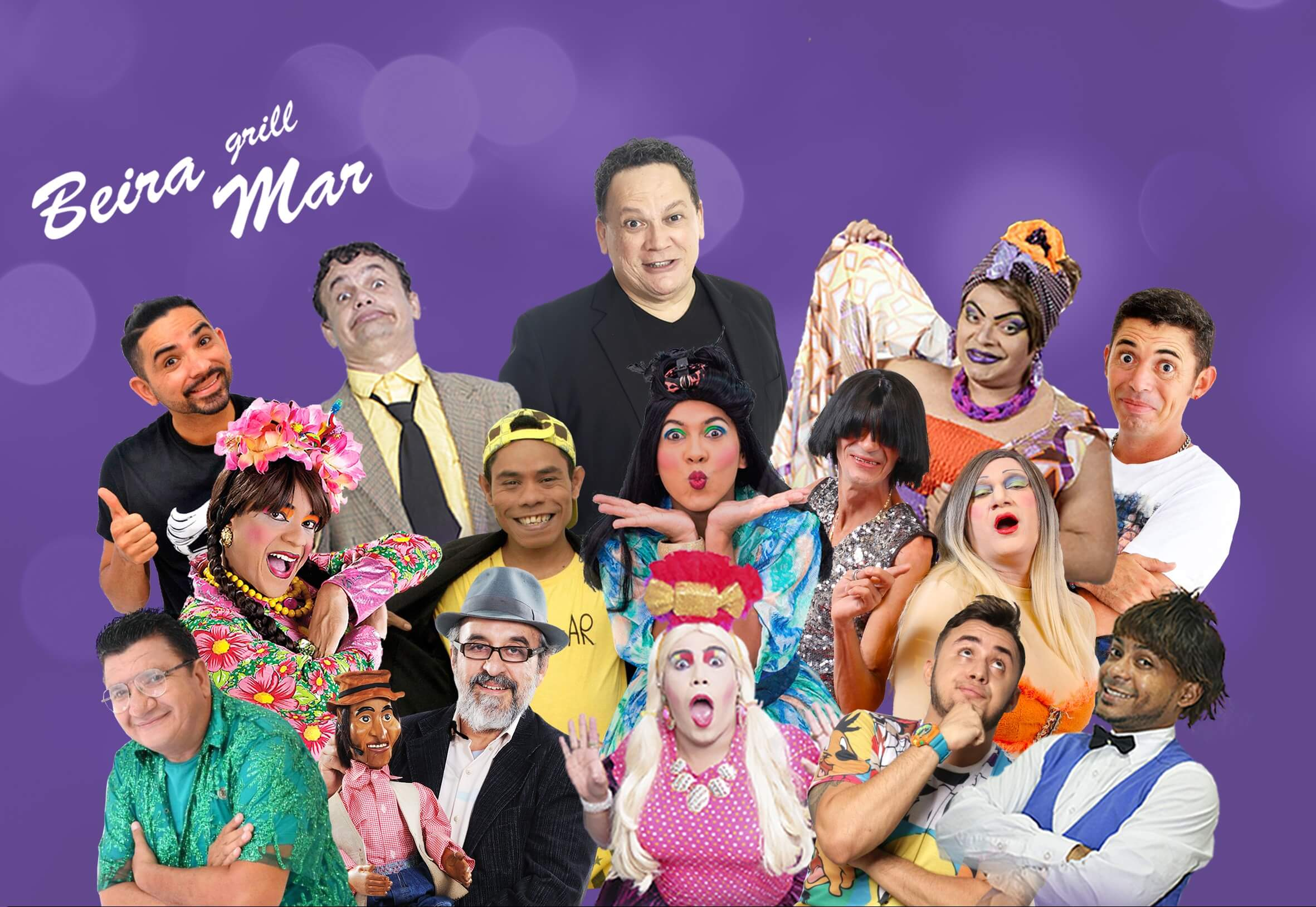 O melhor elenco de humor do Ceará para você dar boas risadas! 1 Ingresso por apenas R$18,90