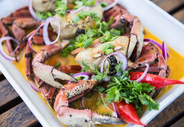 Quinta e sábado com muito caranguejo na CrocoBeach! 3 Caranguejos de R$28,90 por apenas R$16,90