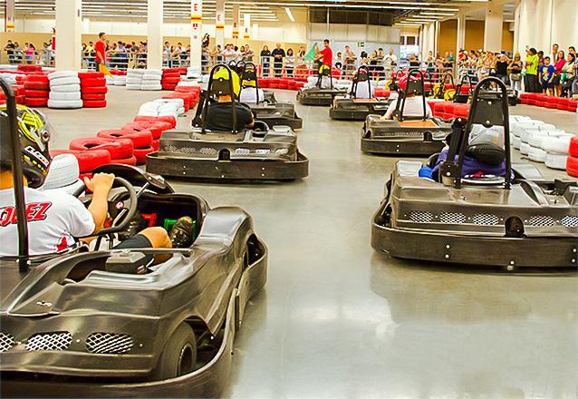 #9AnosBarato ☆ - Corrida de 15 voltas para 1 pessoa por R$34,99 no Stop Kart do North Shopping Jóquei