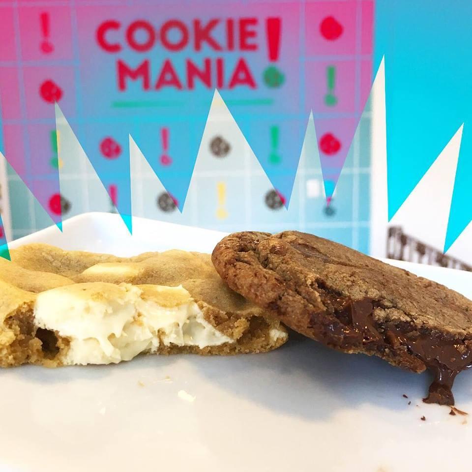 Oferta exclusiva de Aniversário! Cookie Clássico de Chocolate de R$5,00 por apenas R$2,90 na Cookie Mania. Válido para loja Varjota ou Sul. Compre até 6 cupons!