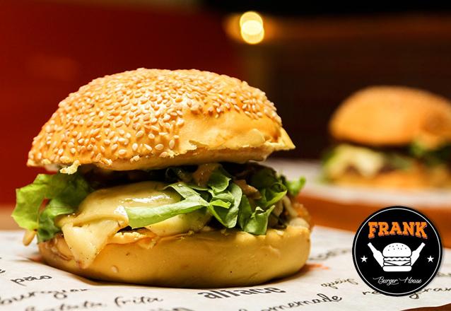 Difícil resistir! Frank Burger ou Classic Burger ou Pork Burger de R$18,90 por apenas R$14,90 no Frank Burger