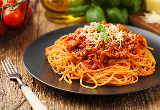 Espaguete do mediterrâneo para 1 pessoa de R$32,90 por R$26,90