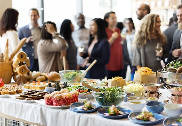 Café da Manhã para evento de 2h com 30 convidados de R$1.399 por apenas R$1.199