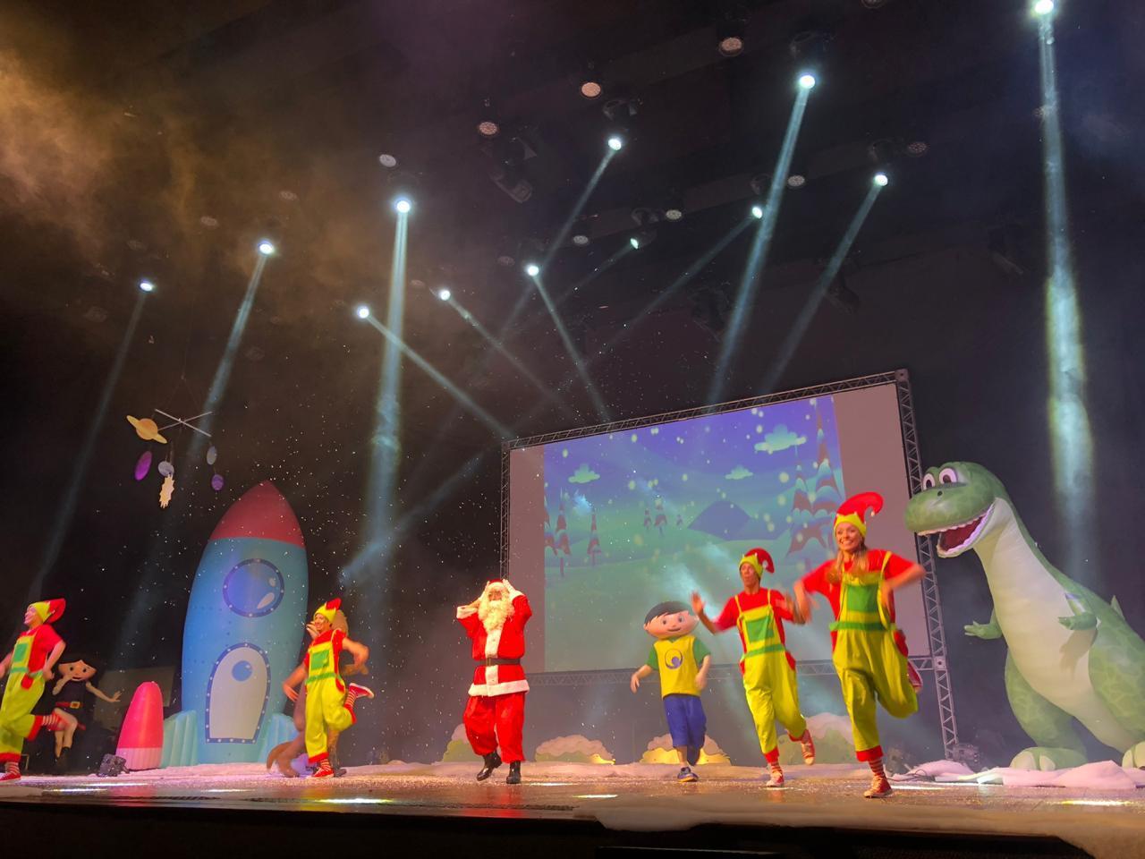 """Ingresso Inteira para qualquer setor para o espetáculo """"O SHOW DA LUNA - ESPECIAL DE NATAL"""" por apenas R$33,40 no Teatro Brasil Tropical"""