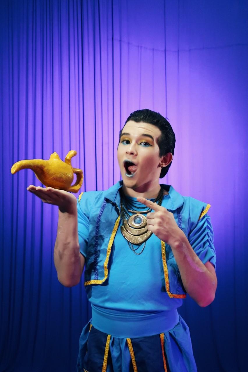 """Um show mágico! Ingresso Inteira Plateia Alta para o espetáculo """"Aladdin"""" dia 18/11 de R$40 por apenas R$18,40 no Theatro ViaSul"""