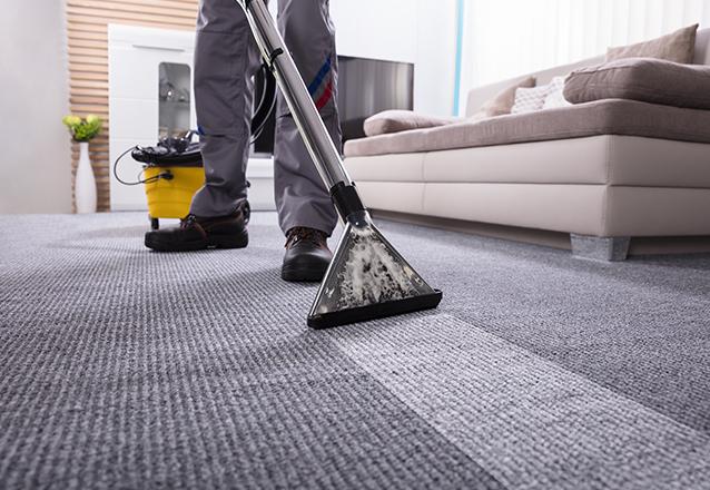 Lavagem a seco e higienização de tapete de até 3m² de R$75 por apenas R$33,90