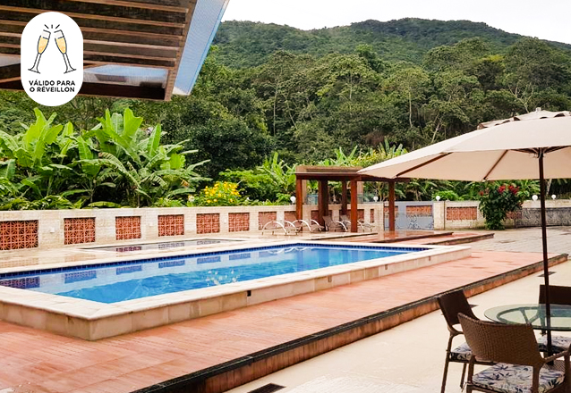2 Diárias para Casal + Pulseira para festa + Jantar da virada + Café da Manhã de R$1.300 por apenas R$999,99