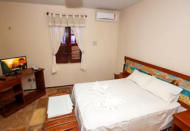 1 noite com check-in domingo a quinta em Apartamento para 2 adultos e 1 criança de até 7 anos + café da manhã por R$189