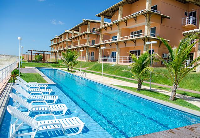 1 diária (check-in domingo a quinta) em apartamento mobiliado para casal e 1 criança de até 10 anos de R$410 por R$249