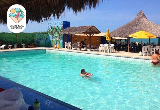 Tenha as melhores Férias na Praia das Fontes! 2 Diárias para 2 adultos e 1 criança de até 12 anos + café da manhã de R$500 por apenas R$350 em DEZEMBRO e JANEIRO no Hotel das Falésias!